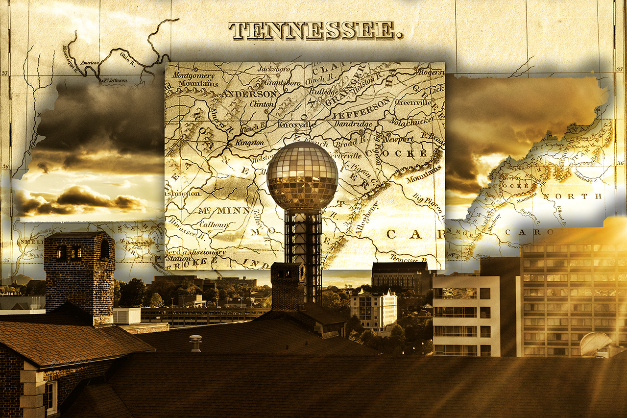 The Sunsphere in a Travel Map