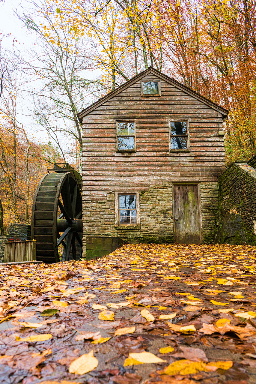 grist mill low view