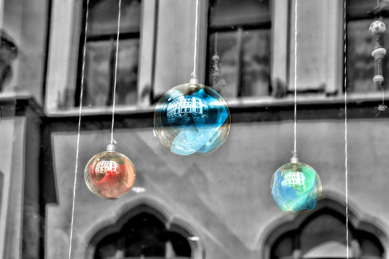 Glass Ornament Reflections