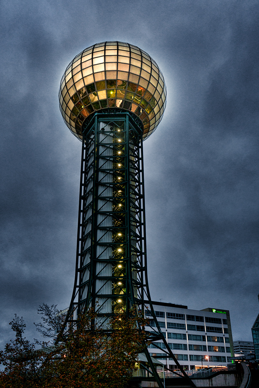 The Gold Ball at the Top Color