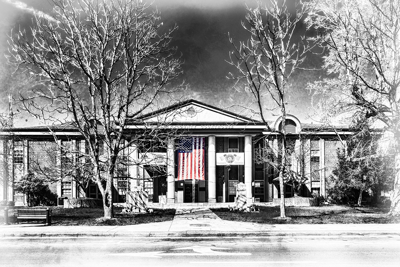 Whitley County Courthouse Flag