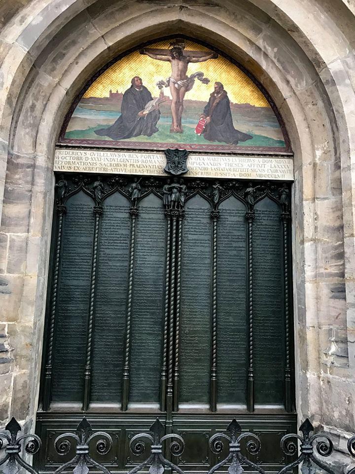 Church door in Wittenberg