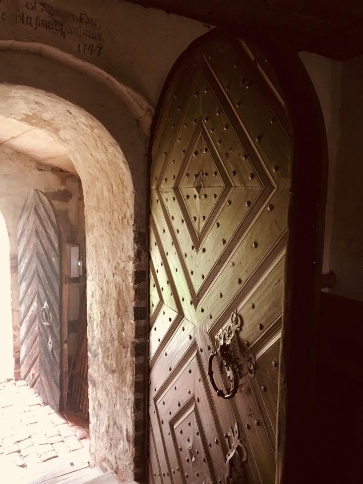 Door in Castle in Sweden