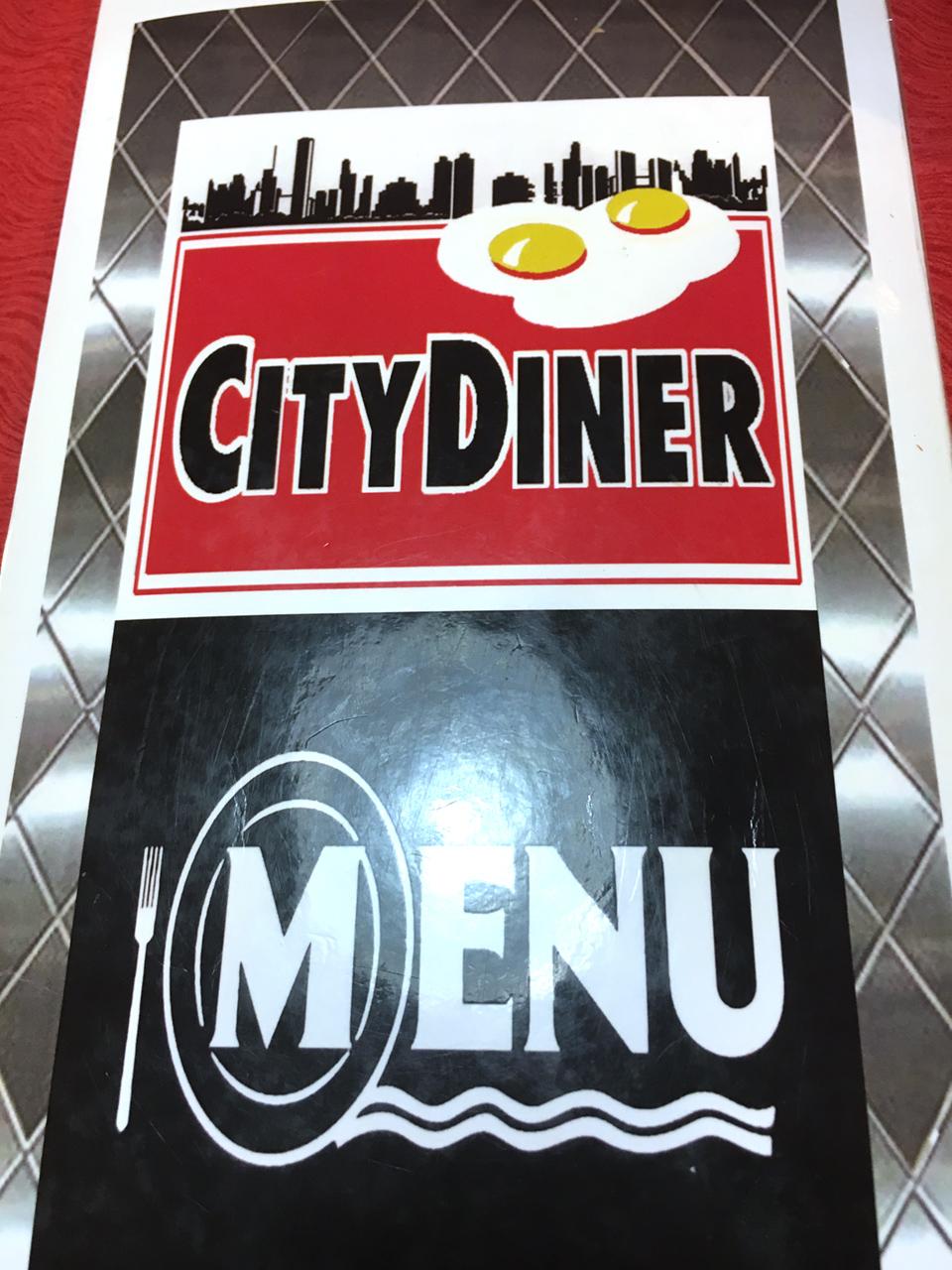 City diner menu