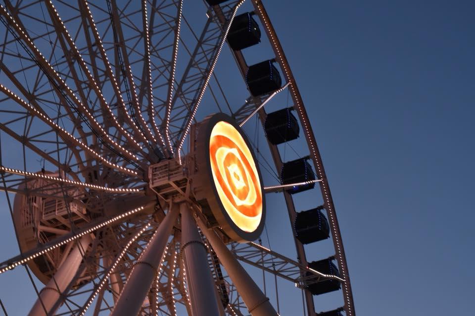 Ferris Wheel by Mary Ann Gilfilan