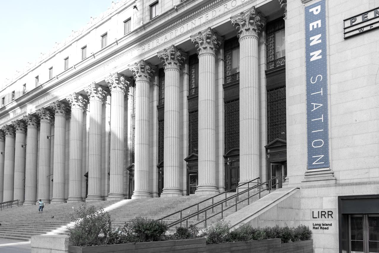 Penn Station Steps